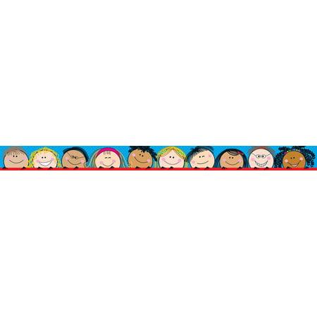 - Smiling Stick Kids Border (1816), Width 23/4 By Creative Teaching Press