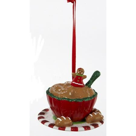 Salt Dough Christmas Ornaments (Gingerbread Kisses Bowl of Cookie Dough Christmas)