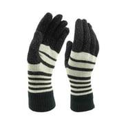 Isotoner Women's SmarTouch Stripe Pattern Knit Gloves
