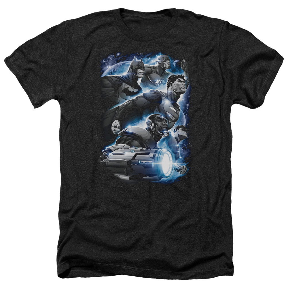 Jla Atmospheric Mens Heather Shirt