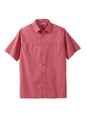 Men's Big & Tall Short Sleeve Solid Sport Shirt