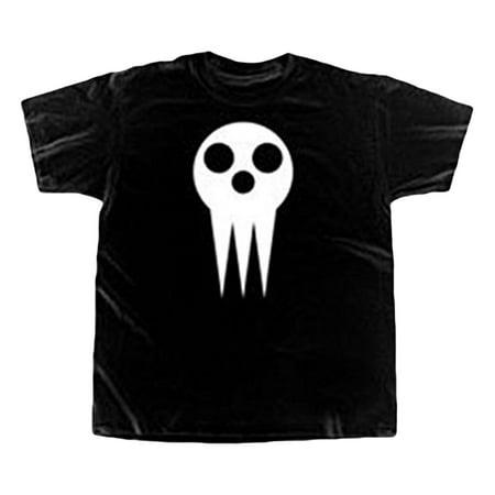 Soul Eater Skull Mask Adult T-Shirt