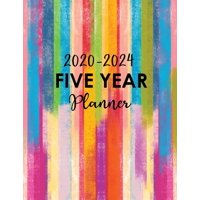 5 Year Monthly Planner 2020-2024: 2020-2024 Five Year Planner: Five Year Monthly Planner - 60 Months Calendar with Holidays - 5 Year Appointment Calendar - Agenda Schedule Organizer Logbook and Journa