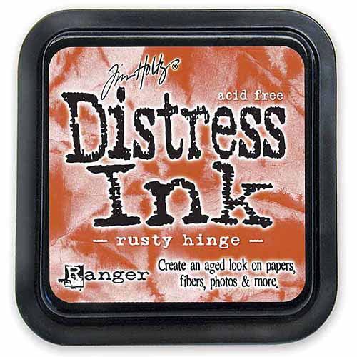 Ranger DIS-27157 Tim Holtz Distress Ink Pad, Rusty Hinge Multi-Colored