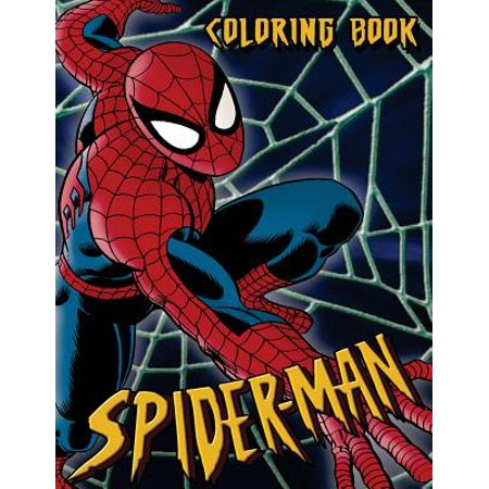 Spiderman Coloring Book: Coloring Book for Kids and Adults 45+ Illustrations](Spiderman Coloring Book)
