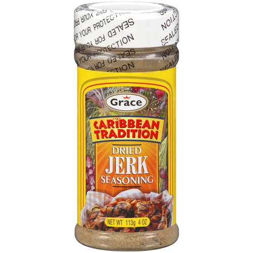 Grace Caribbean Tradition Dried Jerk Seasoning, 4 oz