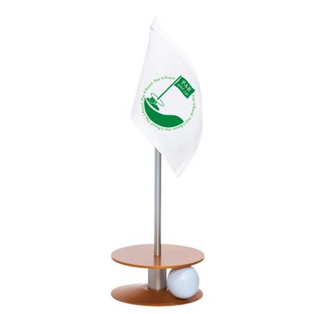 Anne Stone Golf Putt-A-Round Putting Aid PAR Logo Flag Orange Base