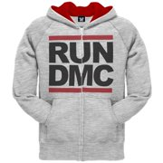 Run DMC - Check Mate Zip Hoodie - 2X-Large