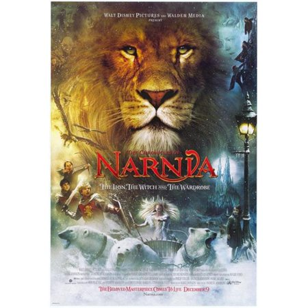 - Pop Culture Graphics MOVEF9493 Chronicles of Narnia - The Lion The Witch & The Wardrobe Movie Poster Print, 27 x 40
