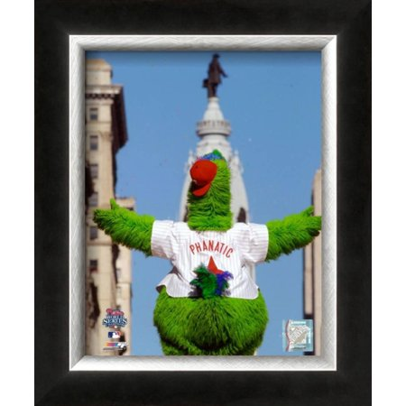 Philly Phanatic World Series (The Philly Phanatic 2008 World Series Parade Framed Photographic Print Wall Art )