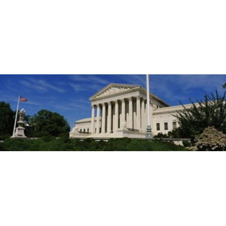 US Supreme Court Building Washington DC District Of Columbia USA Canvas Art - Panoramic Images (18 x 6)