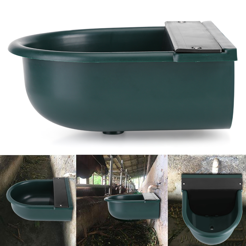 """1//2/"""" Water Trough Automatic Auto Horse Dog Cattle Drinking Bowl Tank Float Valve"""