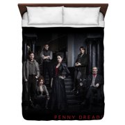 Penny Dreadful Stair Cast Queen Duvet Cover White 88X88