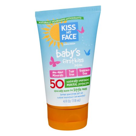 Kiss My Face Baby's Mineral Pampering Lotion Spf 50, 4 Oz