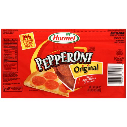 Hormel Original Pepperoni, 24 oz