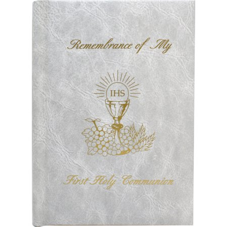 Remembrance Of My First Holy Communion-Girl-White Edges : Marian Children's Mass Book First Mass Book Vinyl
