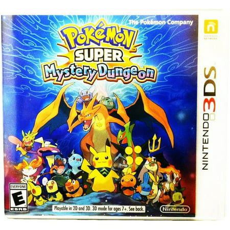 Pokemon Super Mystery Dungeon, Nintendo, Nintendo 3DS, [Digital Download],