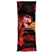 Nightmare On Elm Street Freddy'S Boiler Room Microfiber Body Pillow White 18X54