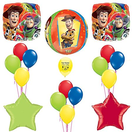 Toy Story Party Balloon Decoration Kit with Forever ORBZ balloon](Toy Story Balloon Decoration)