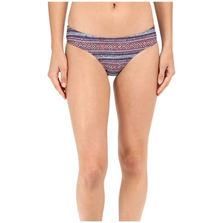 Volcom Womens Liberty Cheeky Bikini Bottom (Rad Red,