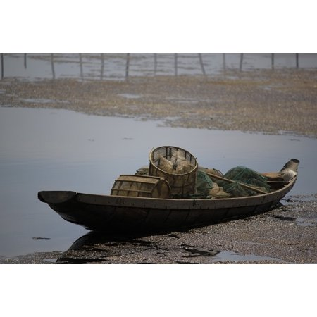 Laminated Poster Outdoor The Boat Catching Fish Sharp Vietnam Poster Print 24 X 36