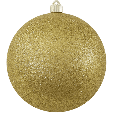 Gold Christmas Ornaments Png.Christmas By Krebs Large Christmas Ornaments Gold Glitter 8