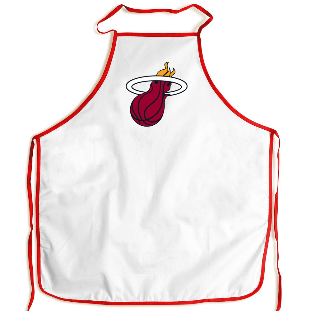 Miami Heat Official NBA Adult One Size BBQ Grill Chef's Apron by McArthur