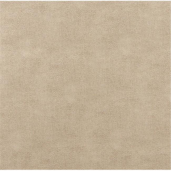 Designer Fabrics G583 54 in. Wide Beige, Upholstery Grade Recycled Leather