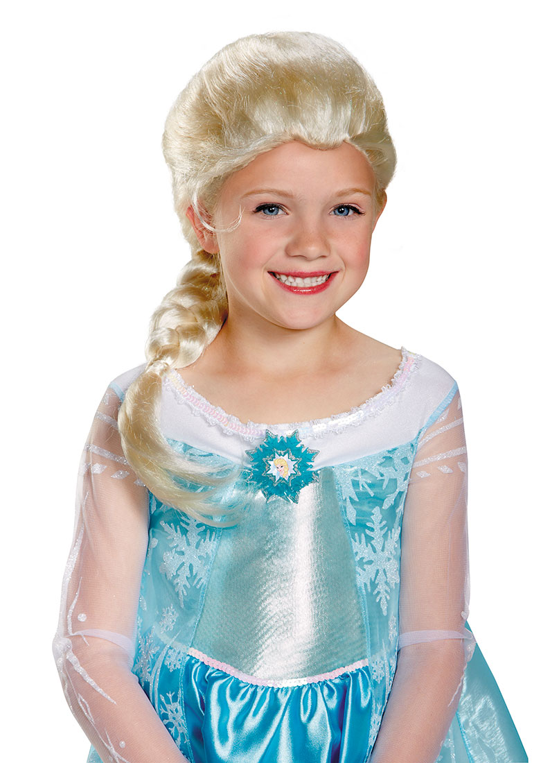 sc 1 st  Walmart & Frozen Girls Elsa Child Wig - Walmart.com