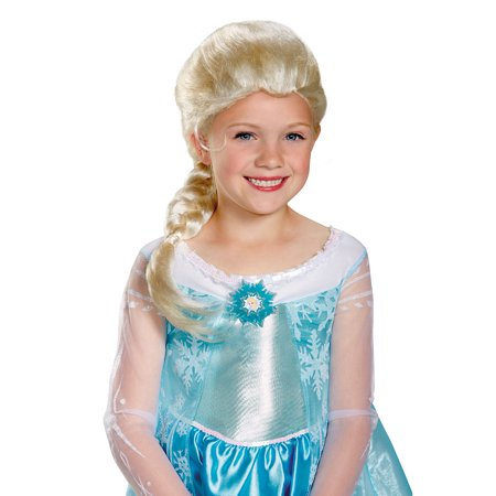 Emo Girl Wigs (Frozen Girls Elsa Child Wig)