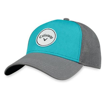 c02769458a8fb NEW 2018 Women s Callaway Golf Trucker Teal Adjustable Hat Cap - Walmart.com