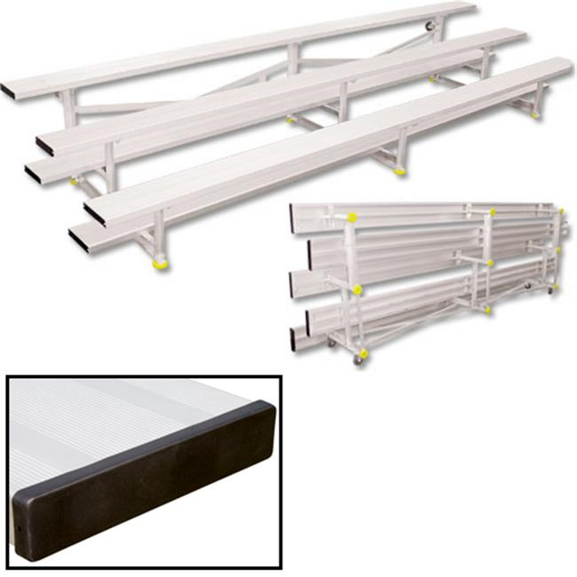 3 Row 15 ft. Tip n Roll Bleacher Seats 30 by Sport Supply Group