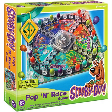 Pressman scooby doo pop 39 n 39 race game - Race de scooby doo ...