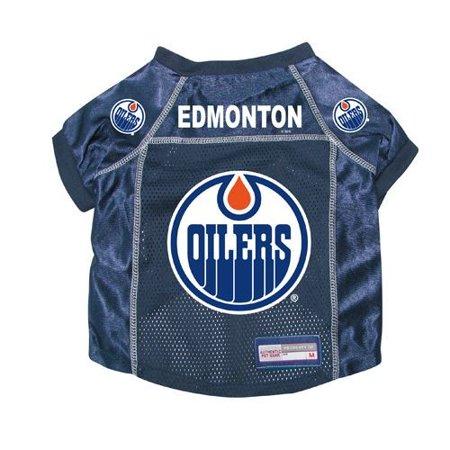Edmonton Oilers Dog Pet Premium Hockey Jersey XS