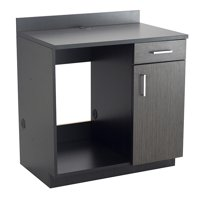 1705AN Classroom 128 Lbs Weight Capacity Asian Night Top & Doors Hospitality Appliance Base Black Cabinet