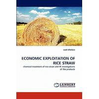 Economic Exploitation of Rice Straw