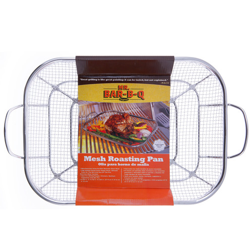Mr. Bar-B-Q Stainless Steel Mesh Roasting Pan