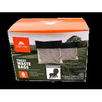 Ozark Trails Double Doodie Toilet Bags w/Bio-Gel 6 Pack 2683-13