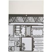 Colorbok Chateau Noir Paper Plus Pad, 184 Piece