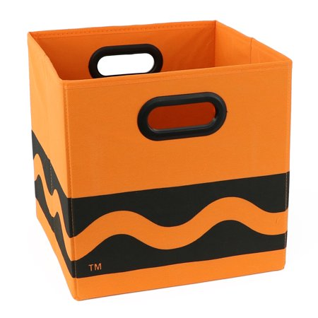 Crayola Black Serpentine Orange Storage Bin