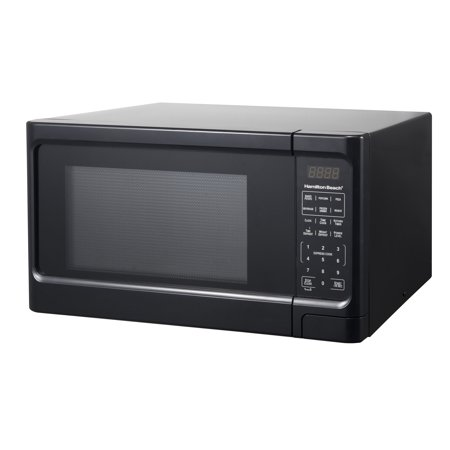 Hamilton Beach 1.1 Cu. Ft. Black Digital Microwave (Black Decker 0-9 Cu Ft 900 Watt Microwave)