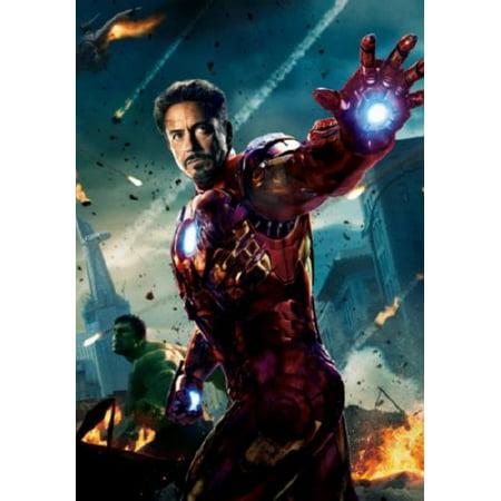 (27x40) Avengers Ironman Movie Poster Reprint ...