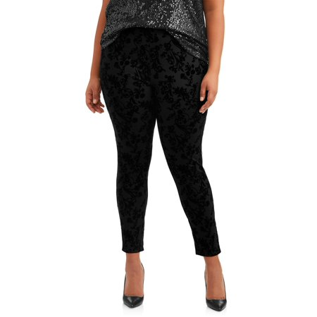 Women's Plus Size Full Length Super Soft Jegging - Plus Size Corsette