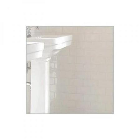 Hammersmith 10079621 Pallets 4 X 12 White Ceramic Subway Tile