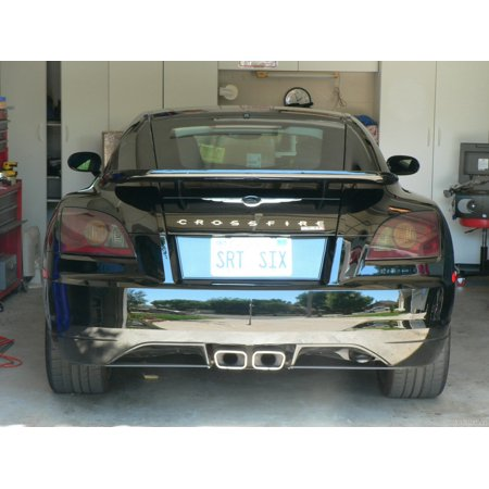 New Chrysler Crossfire Smoked Tail Light Overlays Tinted Lamp Film Covers