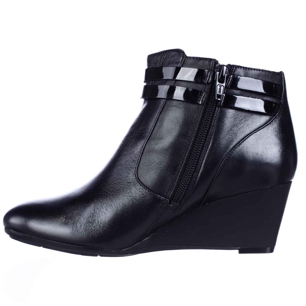 Womens naturalizer Nikole Wedge Booties - Black