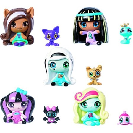 Monster High Minis Draculaura Frankie Stein Clawdeen Wolf Cleo De Nile Lagoona and Pets 5 - Monster High Clawdeen Wolf Costume