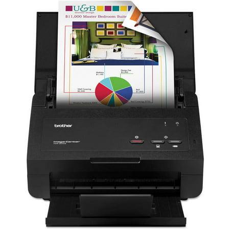 Brother ADS-2000E Desktop Scanner with Duplex, 600 x 600 dpi