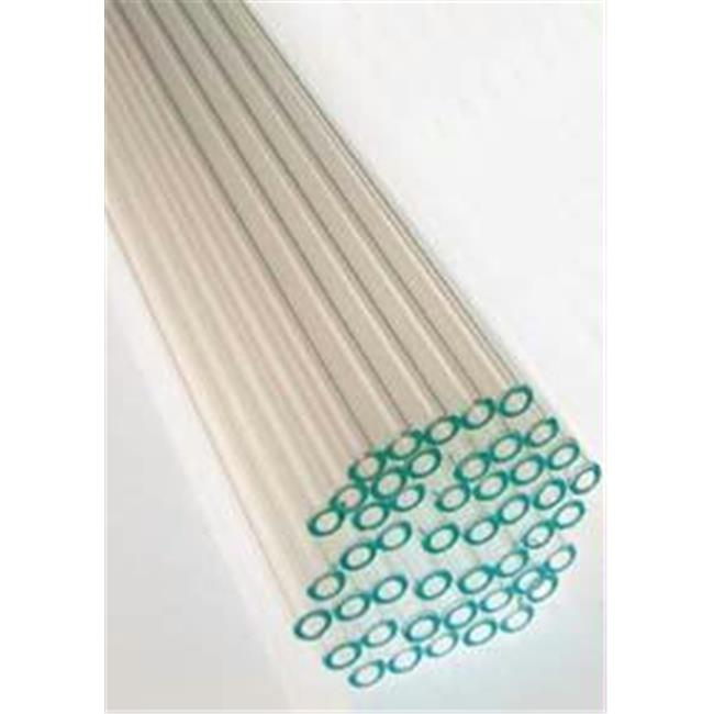 Olympia Sports 47465 Pound of Glass Tubing - 8mm