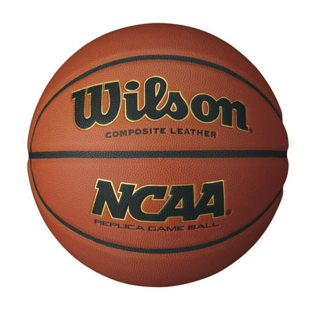 Wilson NCAA Replica Game Basketball, Intermediate Size (28.5